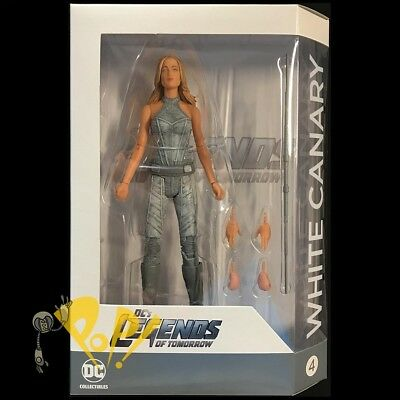 """CW Legends of Tomorrow WHITE CANARY 6.5"""" Action Figure DC Comics TV Show!"""