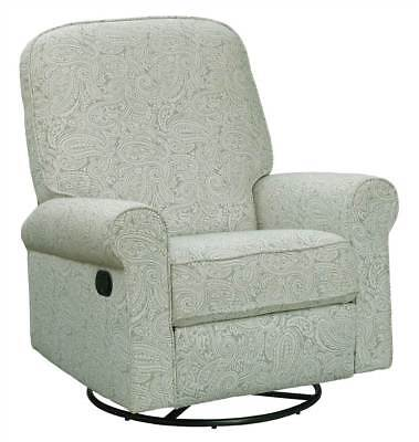 Pulaski Swivel Glider Recliner Chair Piping Comfort Relax Sofa Free