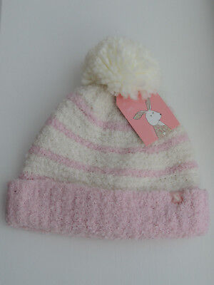 JOULES Baby Girls Pomme Warm Hat 1-2 years BNWT