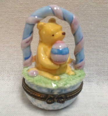 Disney Winnie the POOH Easter Trinket Box by Midwest of Cannon Falls