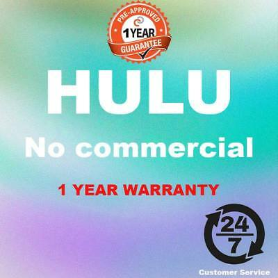 Hulu PREMIUM No commercial | LIFETIME subscription | NO ADS | Same day Delivery