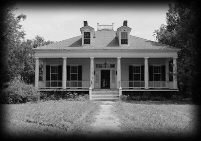 Elegant single-story Antebellum Plantation home - architectural plans, PDF file