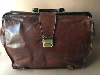 The Bridge Leder Tasche Story vintage Aktentasche Arztkoffer