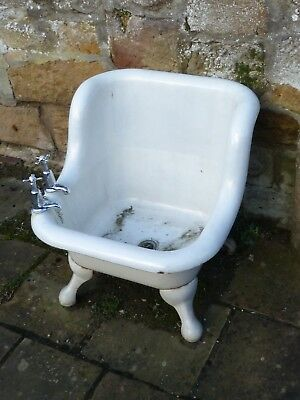 Antique hip bath