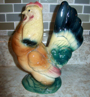 Vintage Royal Copley And Royal Windsor Rooster