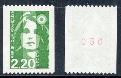 STAMP / TIMBRE FRANCE NEUF N° 2718a ** MARIANNE DU BICENTENAIRE / ROULETTE