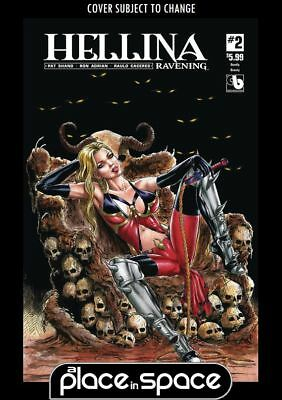 Independent & Small Press Hellina Ravening #2 Hunted Nude Cover NM Comics Book Comics