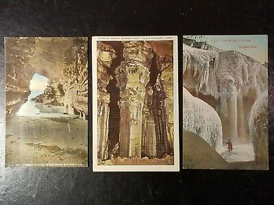 8 Post Cards of Caves