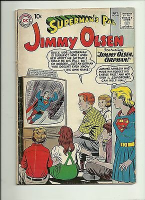 Superman's Pal Jimmy Olsen #46  1960  Dc Comics  Silver Age  Supergirl  Solid Vg