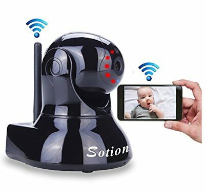 Sotion Video Baby Monitor, HD Wireless Pet Camera with Two Way Audio and Night