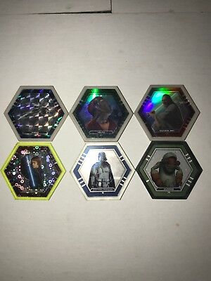 Topps Star Wars Galactic Connexions 6 Discs