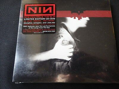 Nine Inch Nails - The Slip (NEW LIMITED EDITION CD+DVD 2009 WITH STICKER PACK)