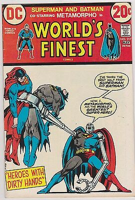 World's Finest #217 with Superman & Batman, Very Fine - Near Mint Condition