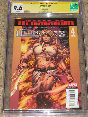 Ultimates 3 #4 Valkyrie Variant CGC 9.6 SS David Finch | Only SS in Census