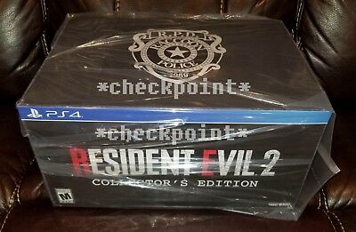 NEW Resident Evil 2 Remake Collector's Edition (PS4) Gamestop Exclusive PRESALE!