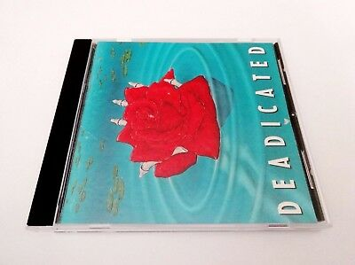 Grateful Dead Deadicated CD 1991 Jerry Garcia Bob Weir Songs Covered By Artists