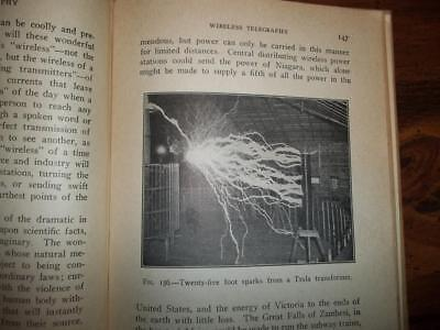 1922 Nikola Tesla  Wireless Power, Tesla World Power Plant, Oscillation, Coil