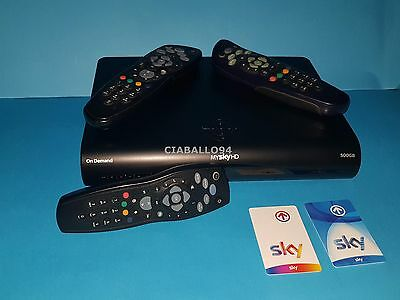 decoder my sky hd 3D on demand 500GB legge tutte le schede  X VISIONE IN HD
