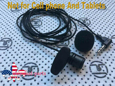 3.5mm Omnidirectional Tie Clip on Lapel Lavalier Mini Mic Microphone 2M / 6.7FT