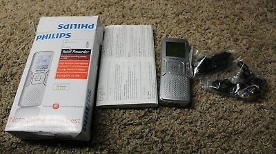 Philips Digital Voice Tracer 662 Voice Recorder (Mint)