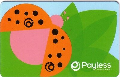 PAYLESS SHOE Limited Edition Gift Card 2006 New No Value (FRENCH)