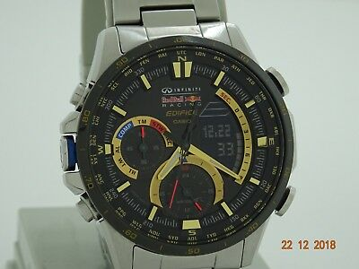 Mens Casio Edifice Infiniti Red Bull Compass Edition Watch Era 300rb
