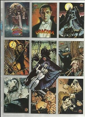 "1994 Universal Monsters (Topps) ""Complete Base Set"" of 100 Cards (1-100) HTC!!"