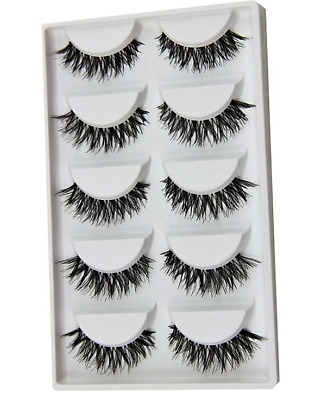 False Eyelashes Demi Wispies Set Natural Wispy MakeUp Long Eye Lashes Dupes UK