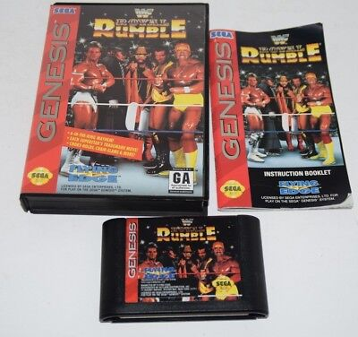 wwf royal rumble sega genesis rom