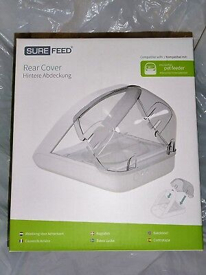 SureFlap Surefeed Rear Cover for Microchip Pet Feeder. Accessory for pet feeder.