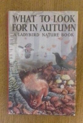 A Ladybird Nature Book 'What To Look For In Autumn' (Series 536) New 2015