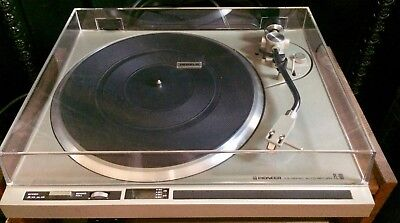 Pioneer PL-100; new stylus and belt; calibrated. Great classic deck.