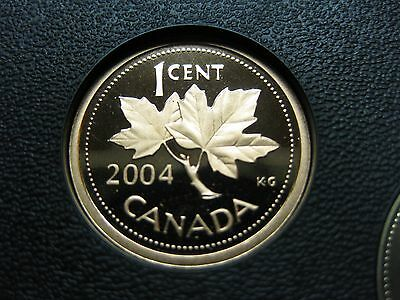 2004 Canadian Proof Penny One Cent - 1 cent