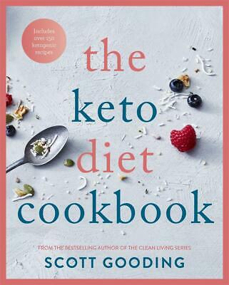The Keto Diet Cookbook by Scott Gooding Paperback Book Free Shipping!