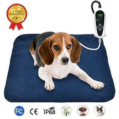 RIOGOO Pet Heating Pad, Electric Heating Pad for Dogs and Cats Indoor Warming...
