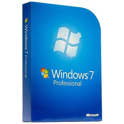 Microsoft Windows 7 Pro Product OEM Key License Code 32 / 64 bit Via Message