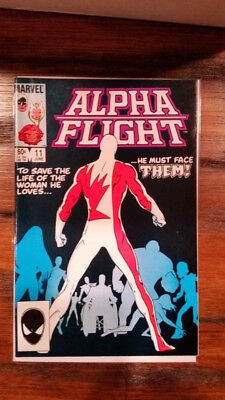 Alpha Flight #11 ( Marvel Comics 1984 ) NM-
