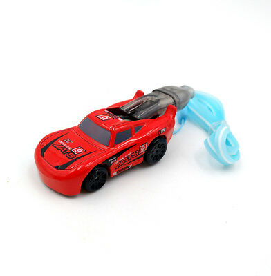 Chariot Special Whistle Car Speed Racers Mini Model Red Inertial Gifts Car Toy