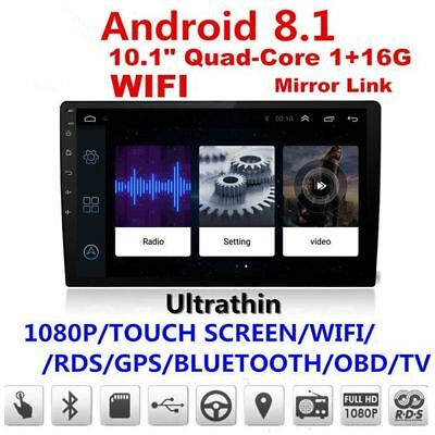 10 Inch 2Din Android 8.1 Car MP5 Player GPS 1G ram+16G rom Stereo Radio 4G OBD