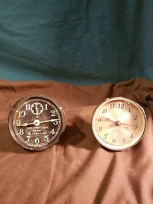 2 , 1941 U. S. NAVY Ships clock elements- Seth Thomas Mark I Boat + ST 4 jewel