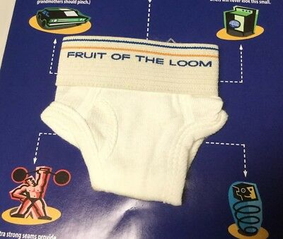 Fruit of the LOOM Comfort Challenge tiny small underwear PROMO miniature brief