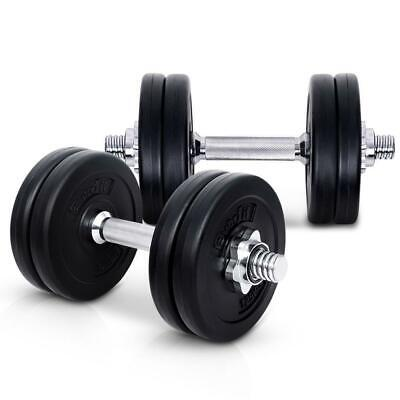 Everfit Fitness Gym Exercise Dumbbell Set 15kg