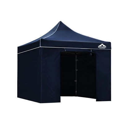 Instahut 3 x 3m Aluminium Pop Up Gazebo - Navy