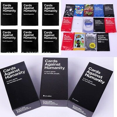 Cards Against Humanity UK edition 600 Card Full Base Set Pack Party Game New Toy