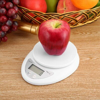 5kg 5000g/1g Digital Kitchen Food Diet Postal Scale Electronic Weight Balance%B