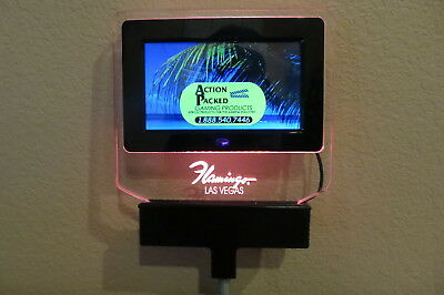 Flamingo Casino Table Sign - Digital Display Screen - Limit Table Sign