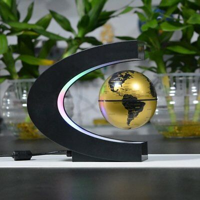 High Tech Antigravity Floating Magnetic Globe with LED Light Gift Decoration AS