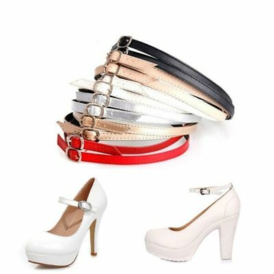 Detachable PU Shoe Strap Lace Band for Holding Loose High Heeled Shoe AM8