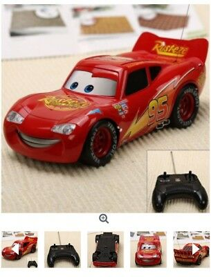 25Cm Lightning Mcqueen Rc Car With Working Headlights & Moving Mouth