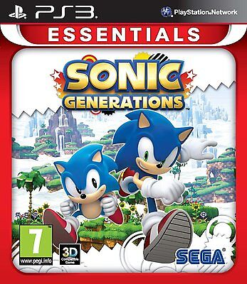 Sonic Generations: Essentials (PS3) BRAND NEW SEALED